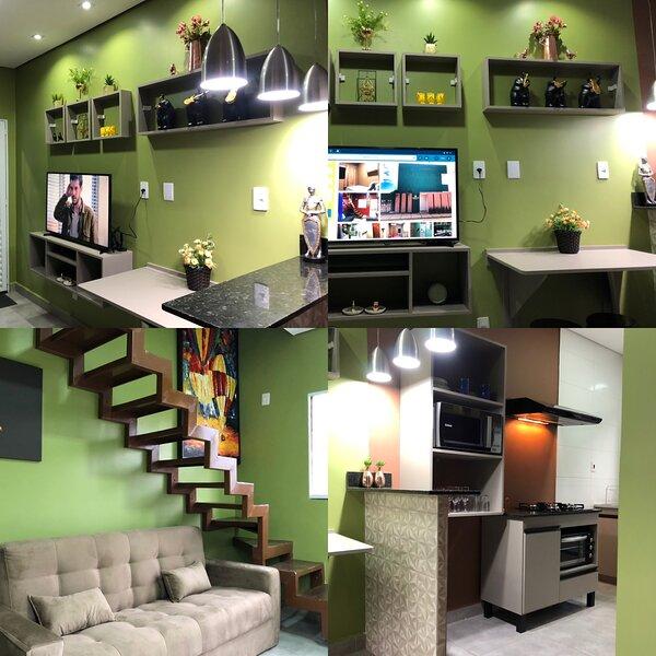 Lindos Flats Mobiliados e Decorados . Conforto e sofisticação., aluguéis de temporada em Mato Grosso
