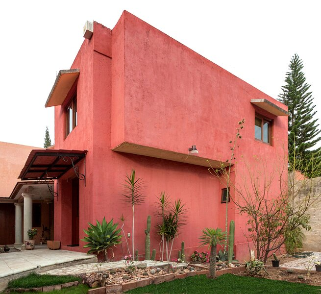 Beautiful typical house of adobe, cedar wood and quarry, vacation rental in San Agustin Etla