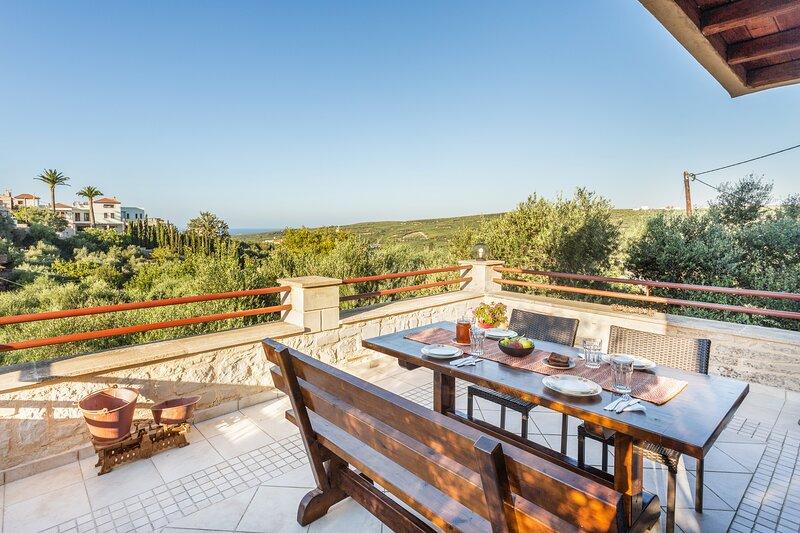 Luxurious Villa Spilia, location de vacances à Vouves