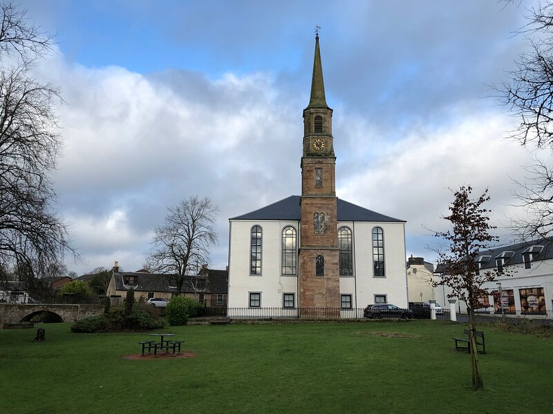 East Church House, holiday rental in Newmilns