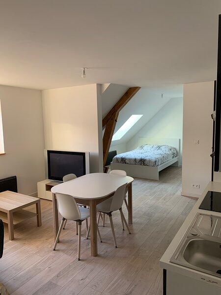 Studio neuf 35m², Ferienwohnung in Taintrux