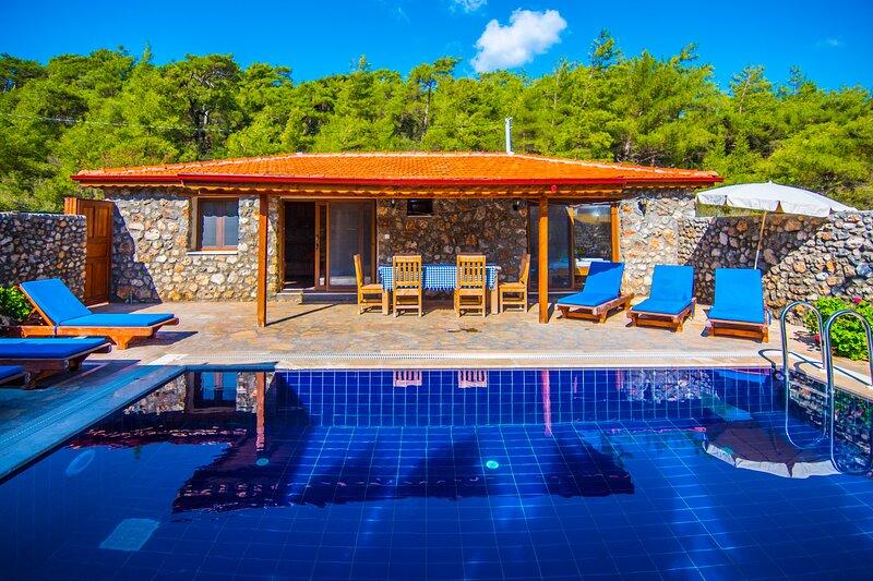Privet Hidden Pool Holiday Villa Şimal – semesterbostad i Kayakoy