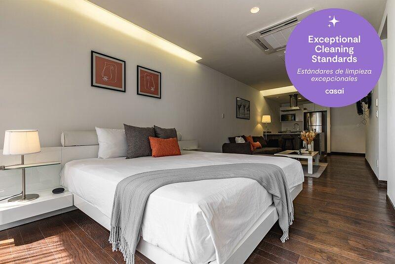 Casai Santa Fe |1 BR| Executive Suite, holiday rental in La Marquesa