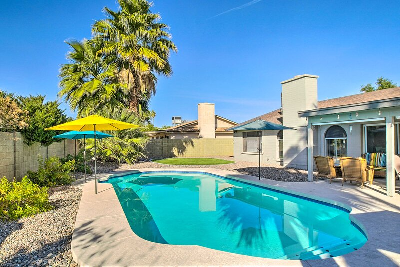 Scottsdale Vacation Rental Home   3BR   2BA   1,430 Sq Ft   Step-Free Access