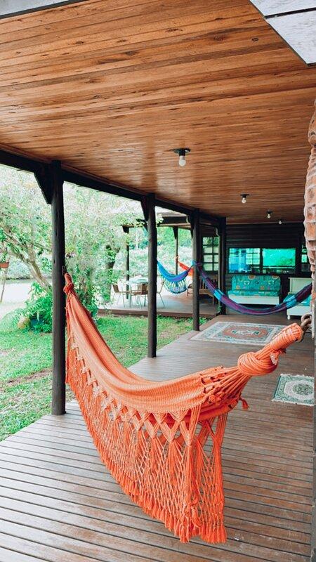 Casa de Praia frente ao Rio na Armação, vacation rental in Pantano do Sul