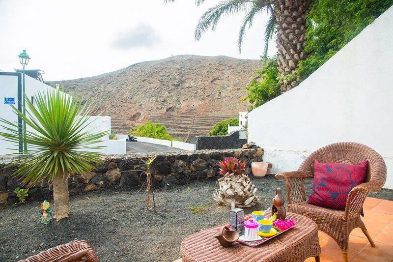 Casa Rural Yeyo in the volcano crater, holiday rental in La Vegueta