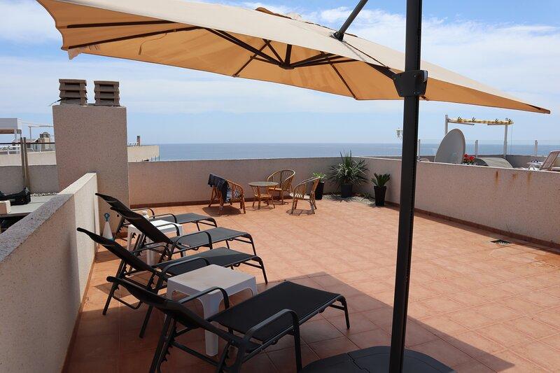 Bolnuevo 2 bedroom penthouse, holiday rental in Bolnuevo