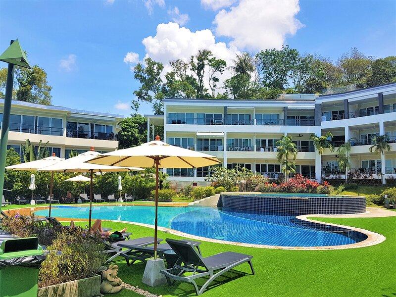 G202 · ♡Sea view♡Swimming pool♡Jacuzzi♡500m to the beach – semesterbostad i Karon Beach