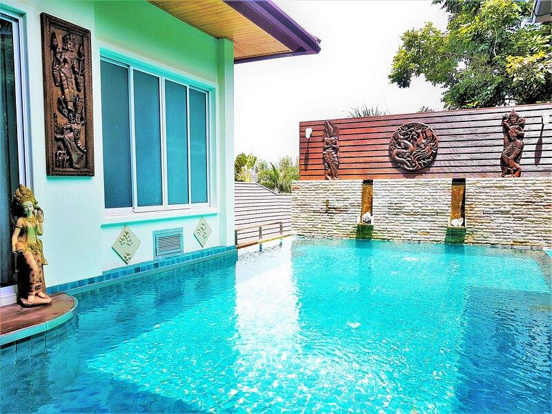 2/14 · Thai Style Villa with Private Pool in Karon – semesterbostad i Karon Beach
