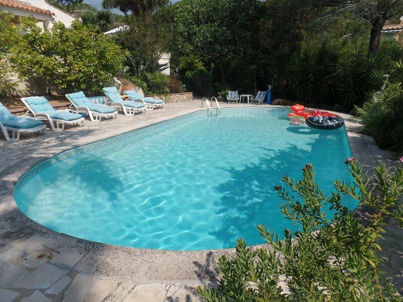 Villa les Mésanges  Appartement vue mer, holiday rental in Grimaud