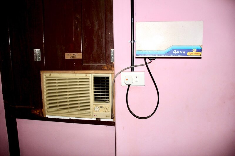 Air conditioning  available  at a surcharge of rupees 100 per day