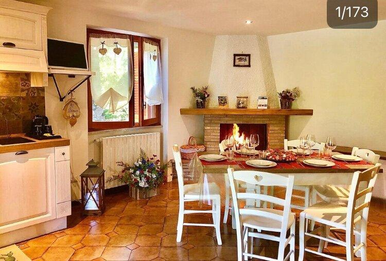 Il Bosco e Il Borgo Guest House Subiaco, holiday rental in Filettino