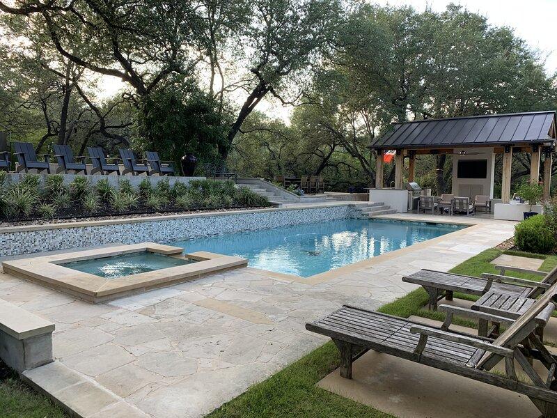 Water,Pool,Flagstone,Nature,Yard