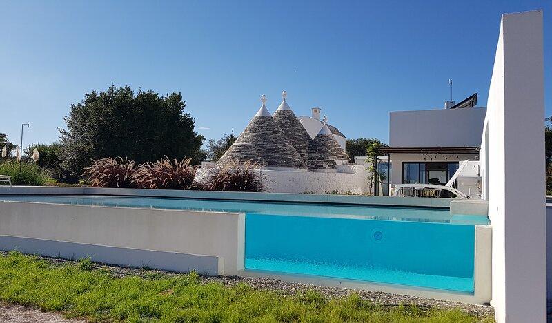 Trulli Resolana, Pool , Relax & Privacy, Architecture design, 6 people in Puglia, vacation rental in Castellana Grotte