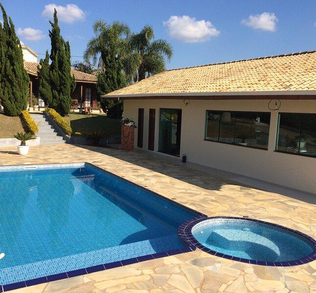 Casa de campo condomínio fechado APENAS FAMÍLIA, holiday rental in Itu