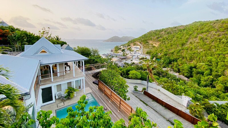 Villa Pain de Sucre, Flammands, St Barthelemy, 2 Rooms (8 guests), vacation rental in Gustavia