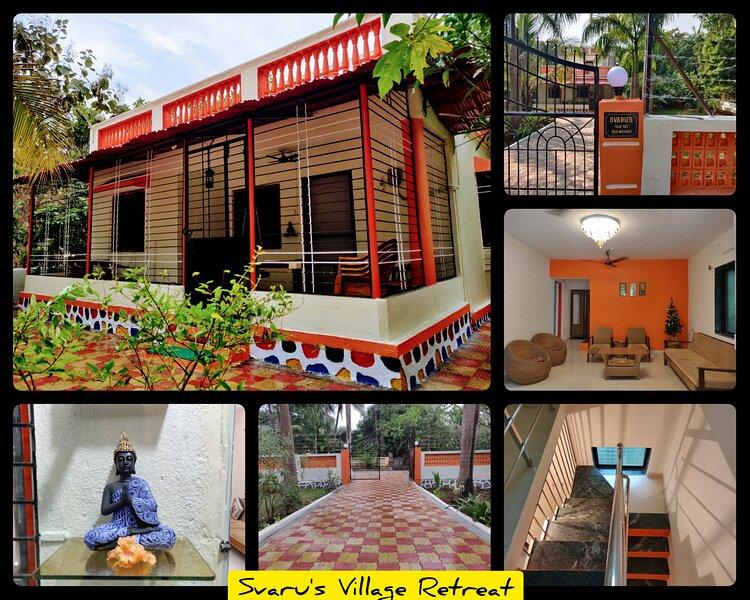 Svaru's Village Retreat, casa vacanza a Thane District