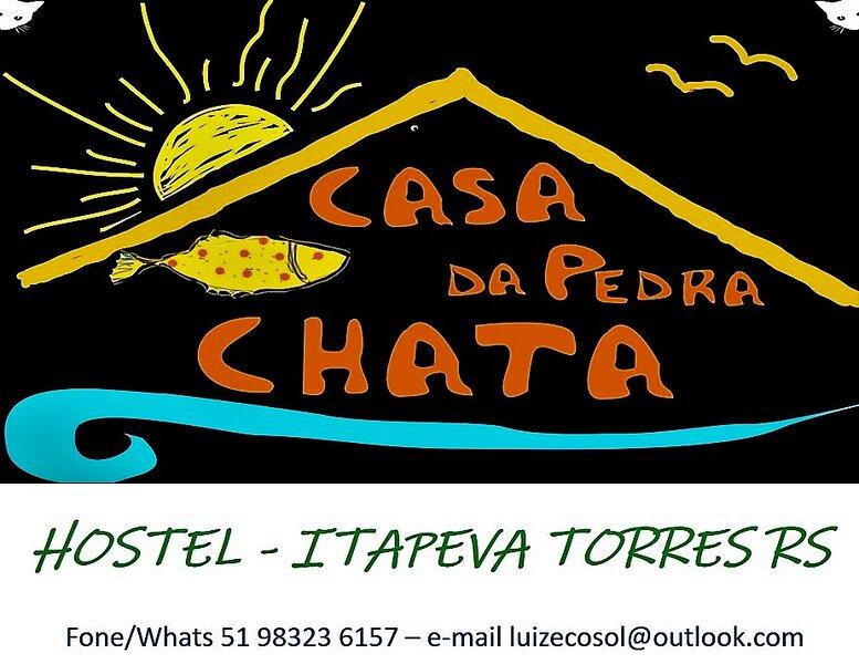 HOSTEL CASA DA PEDRA CHATA, casa vacanza a Arroio do Sal