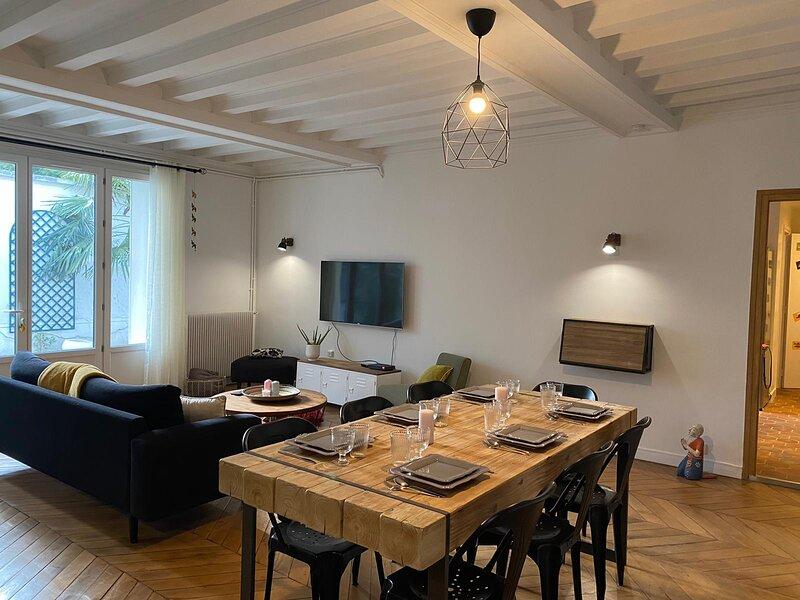 Appartement de charme, alquiler de vacaciones en La Queue-en-Brie