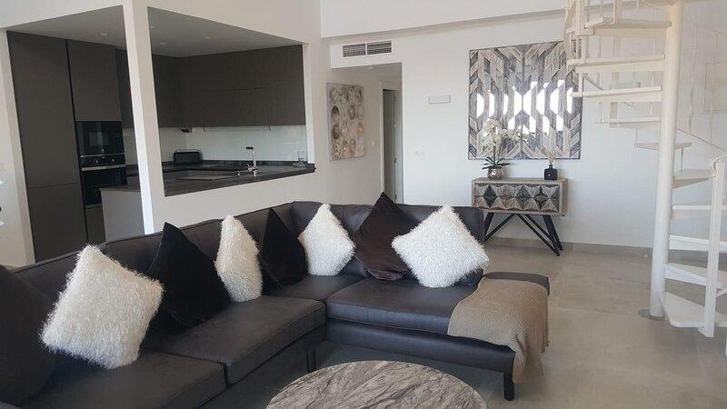 La Manga Club Resort, Los Olivos, 3 Bedroom Stunning Penthouse Apartment, vacation rental in Portman