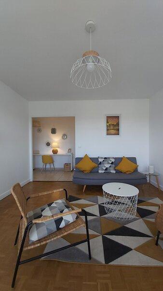 Appartement idéal pour 4 p. tout confort proche Tours, location de vacances à Joué lès Tours