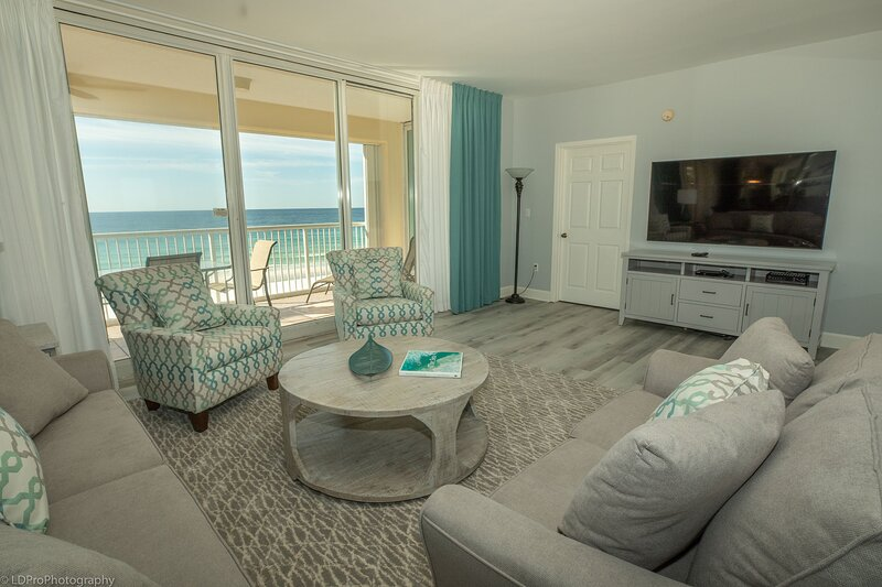 Oceania 503 - 3 BR 3 Ba Gulf front, holiday rental in Shalimar