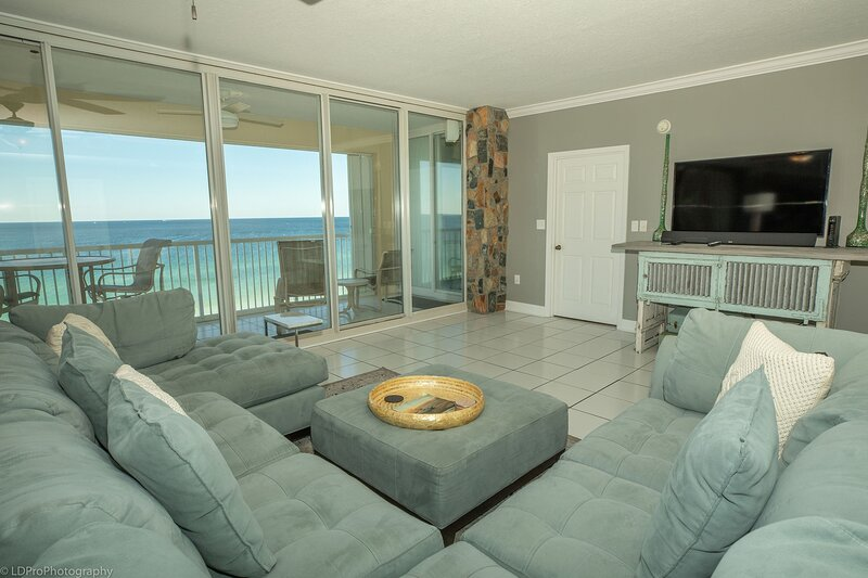 Oceania 703 is the Gulf front Luxury 3 BR you have been looking for - sleeps 6, alquiler vacacional en Shalimar