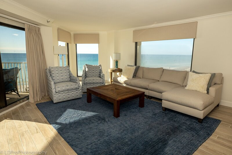 Inlet Reef 301 is an absolutely stunning 3 BR - completely remodeled Gulf Front, alquiler de vacaciones en Shalimar
