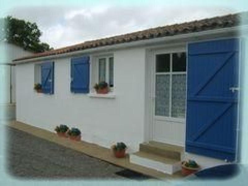 Le Gîte Bleu, location de vacances à Poiroux