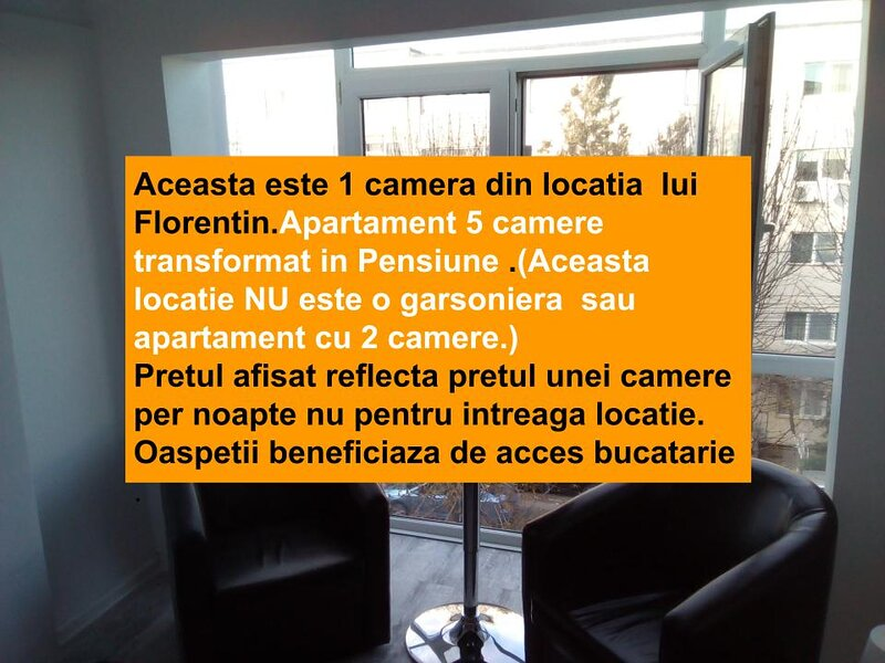 Cozy Florentin's Bedroom in Constanta next to beach resort Mamaia, holiday rental in Mamaia