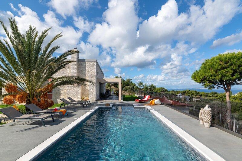 Aura Hill Villa, holiday rental in Asgourou