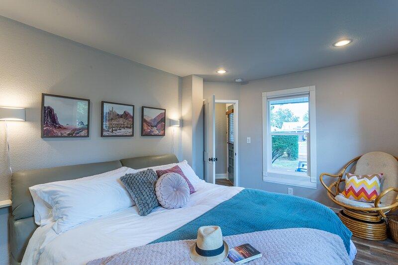 ❤️Fruita Home Base I: Beautiful Cozy 1 bdrm Home, Wi-Fi, Pets Welcome, location de vacances à Fruita
