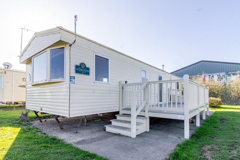 8 berth caravan at Broadland Sands Holiday Park in Suffolk ref 20136BS, holiday rental in Corton