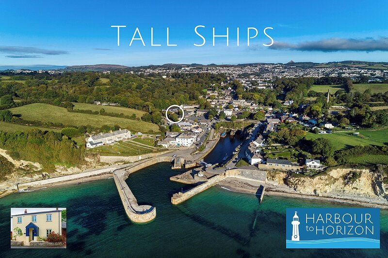 Tall Ships, Charlestown - two ticks from the harbour, holiday rental in Carlyon Bay