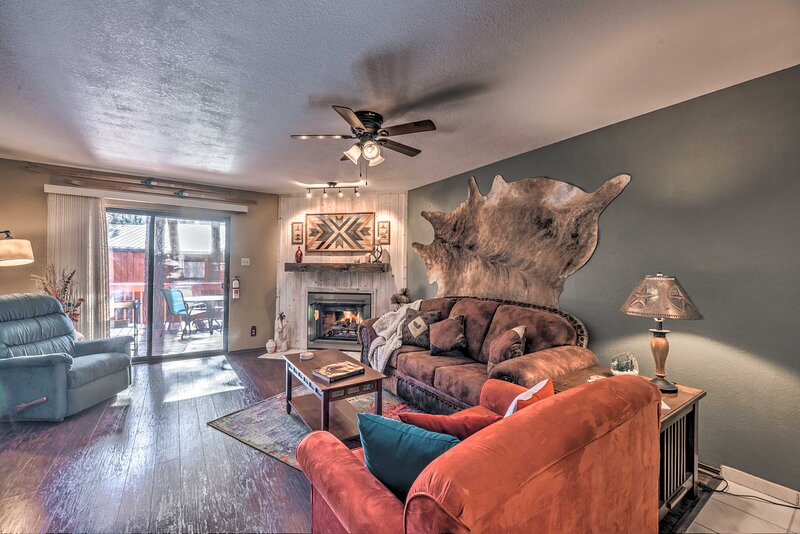 Ruidoso Vacation Rental | 2BR | 2.5BA | 1,152 Sq Ft | 2 Stories