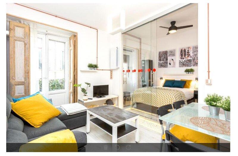 PALACIO REAL CHIC CENTER - Madrid Palace Apartments, alquiler de vacaciones en Mazo
