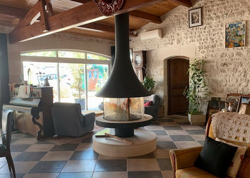 L'alambic de Lorignac, holiday rental in Saint Thomas de Conac
