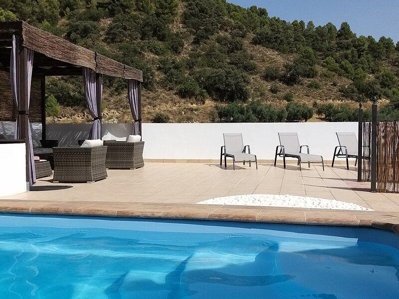 Molino Mairena, Casa Andaluz, alquiler vacacional en Moclín