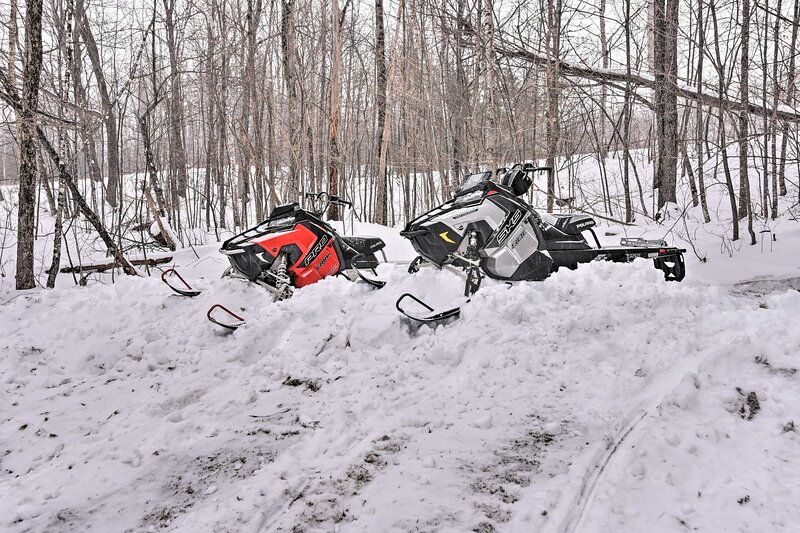 Snowmobile Trails On-Site | Snowmobiles not Provided