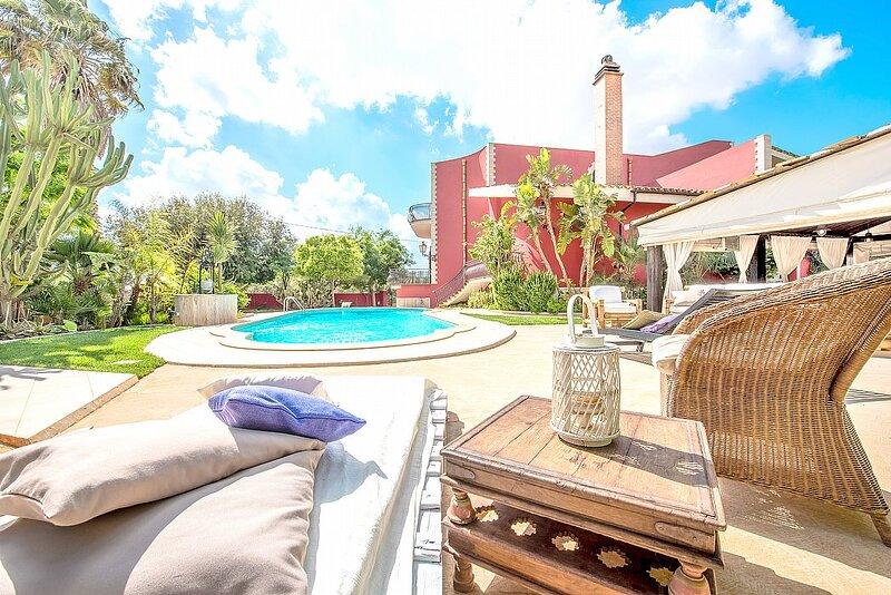 Villa Esmeralda, location de vacances à Granitola