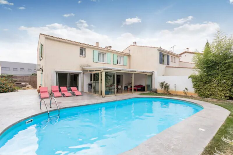 Villa avec piscine, holiday rental in Bages