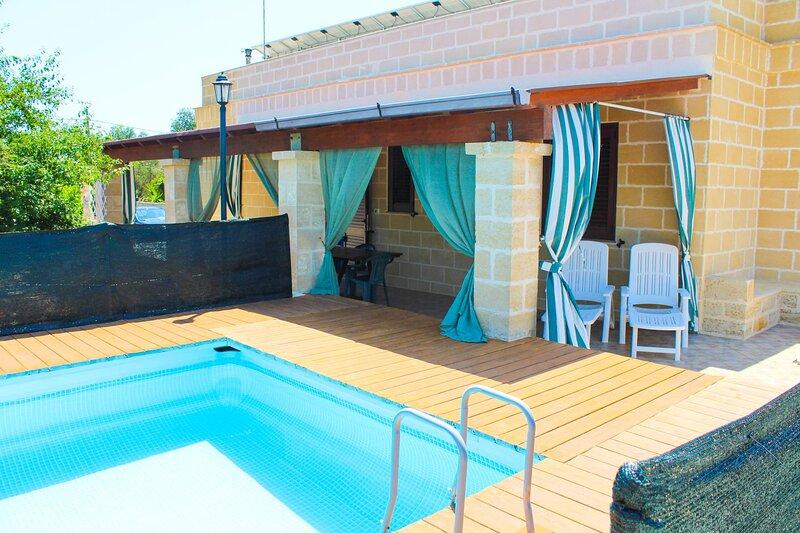 Villetta Gea - Corsano, vacation rental in Montesardo