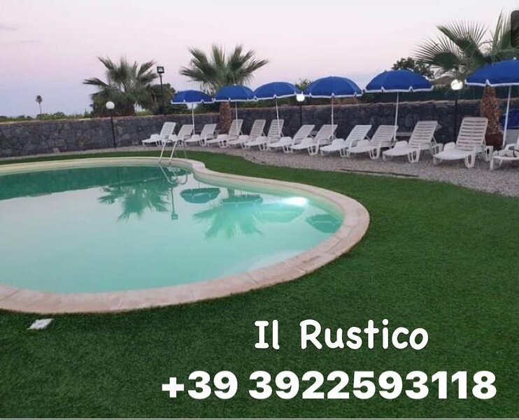 IL RUSTICO SUITE CON VISTA ETNA, vacation rental in San Leonardello