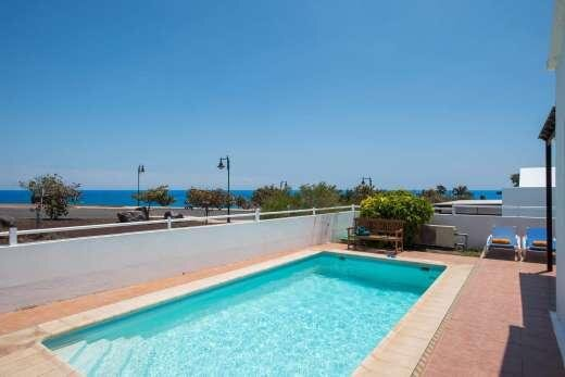 Great villa with sea views, alquiler vacacional en Playa Honda
