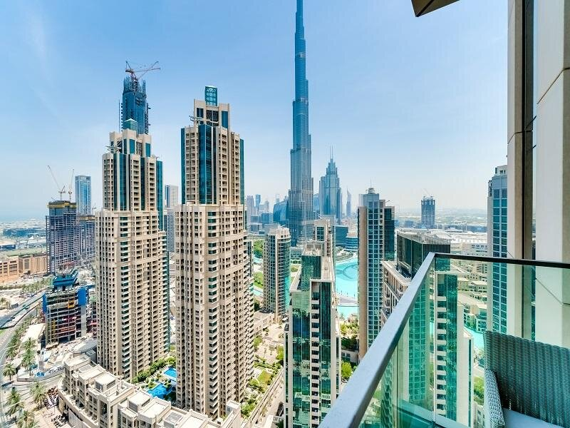 XANADUBAI VIDA Downtown Apartment with Burj Khalifa view, 3 en-suite Bedroom, alquiler de vacaciones en Dubái