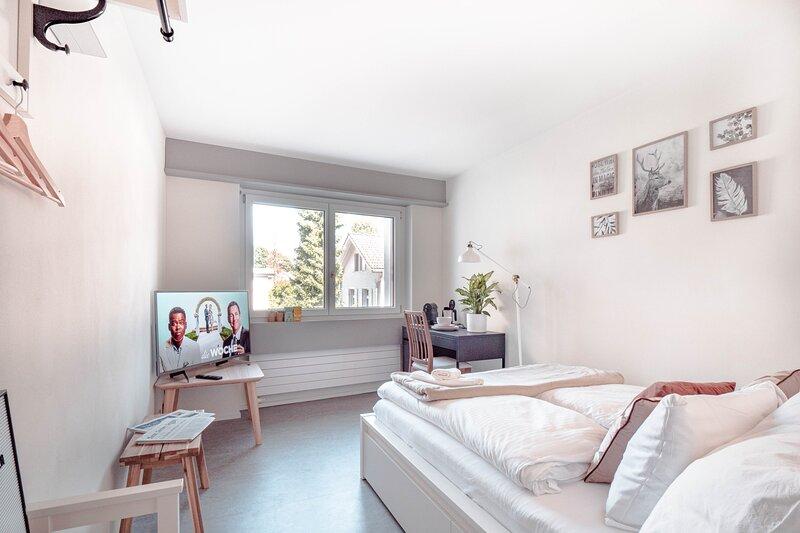 Gemütliches 1-Zimmer-Apartment 'cozy brown', aluguéis de temporada em São Galo (cantão)