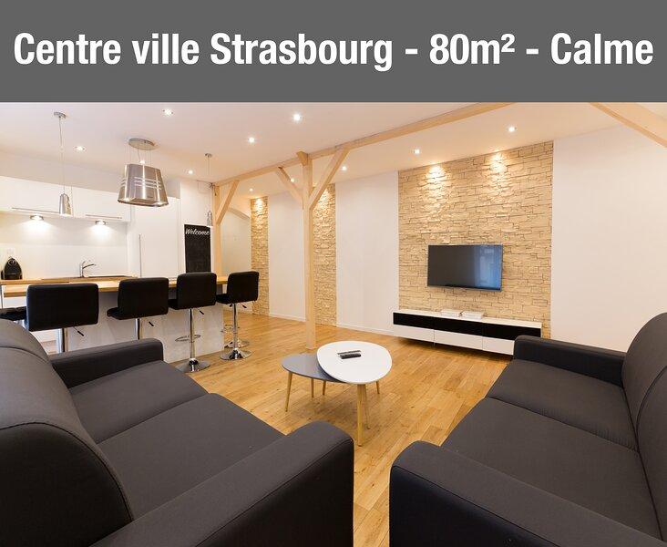 Appartement Centre ville, Calme et Spacieux, location de vacances à Lampertheim