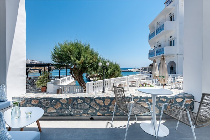 Casa Tholari Al Mare α luxurious independent apartment fully equipped by the sea, holiday rental in Astipalea