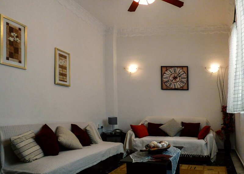Sofi's flat in the city center, 5min to the sea, holiday rental in Messini