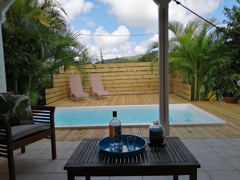 Bougainvillier T3 *** - Villa Ti Gite, location de vacances à Le Marin